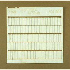 MSC SI4-001 - Drevený šindel, 2 ks v balení