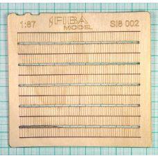 MSC SI8-002 - Drevený šindel s klincami, 2 ks v balení