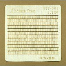 MSC SIT-001 - Drevený šindel, 2 ks v balení
