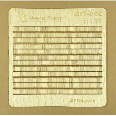 MSC SIT-002 - Drevený šindel s klincami, 2 ks v balení