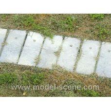 MSC 48700 - Betónové panely, typ I, 34 x 11 mm, 10 ks panelov