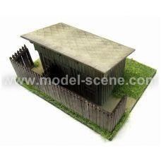 MSC 98041 - Drážne WC s pultovou strechou