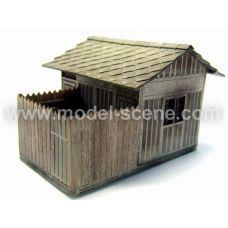 MSC 98051 - Drážne WC so sedlovou strechou