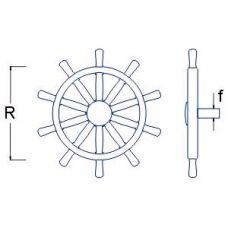 RBM 008 16 - Lodné kormidlo pr. 16 mm