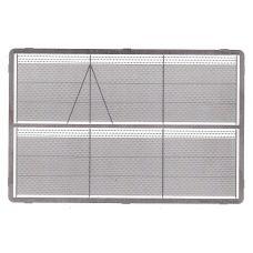 MSC 48140 - Pletivový plot s ostnatým drôtom H0