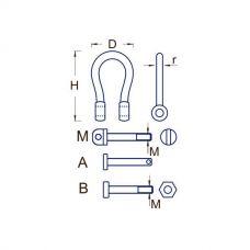RBM 103 9565A - Zámok