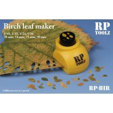 RP-BIR - Vysekávač imitácie listov - breza