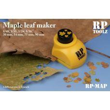RP-MAP - Vysekávač imitácie listov - javor