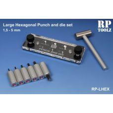 RP-LHEX - Výroba imitácie hlavičiek šesťhraných skrutiek a matíc, veľká