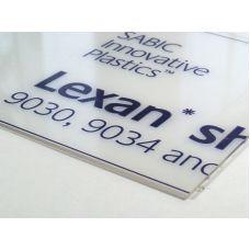 Rab 6601 - Doska číra, Lexan, hrúbka 1,0 mm