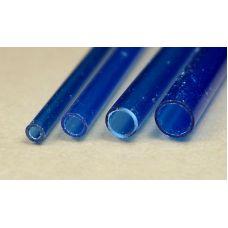 Rab 429-57/3 - Trubka priehľadná modrá, vonkajší priemer 5,0 mm, vnútorný priemer 4,0 mm, jeden kus