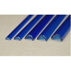 Rab 458-59/3 - Žľab priehľadný modrý, vonkajší priemer 7,0 mm, vnútorný priemer 5,0 mm