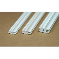 Rab 447-53/3 - Lišta spojovacia, tvaru T, svetlosť 2,0 mm, jeden kus