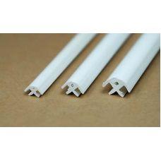 Rab 449-52/3 - Lišta spojovacia, rohová, svetlosť 1,5 mm, jeden kus