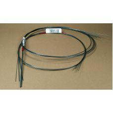 KS 497 - Oceľová struna, priemer 1,0 mm, 4 ks