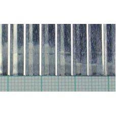 KS 16134 - Plech s prelismi, hliník, rozteč rebier 4,75 mm, hrúbka 0,08 mm