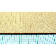 Mid 4434 - Doska profilovaná s drážkami, lipa, hrúbka 1,0 mm, rozteč drážok 1,6 mm