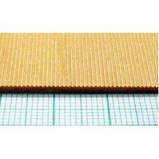 Mid 4490 - Doska profilovaná reliéfom vlnitého plechu, lipa, hrúbka 1,6 mm, rozteč vĺn 0,8 mm