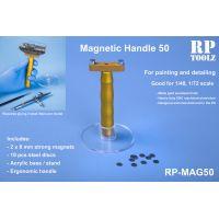 RP-MAG50 - magnetický držiak modelov vhodný pre mierky 1:48, 1:72
