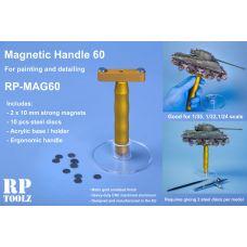 RP-MAG60 - magnetický držiak modelov vhodný pre mierky 1:35, 1:32, 1:24